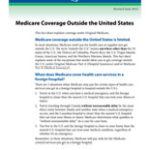 Medicare Coverage Outside the United States